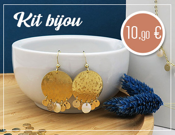 Kit bijou DIY or