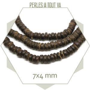 Rang perles bois coco