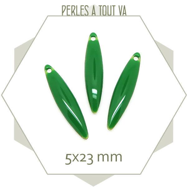 Fournisseurs navettes émaillées vert