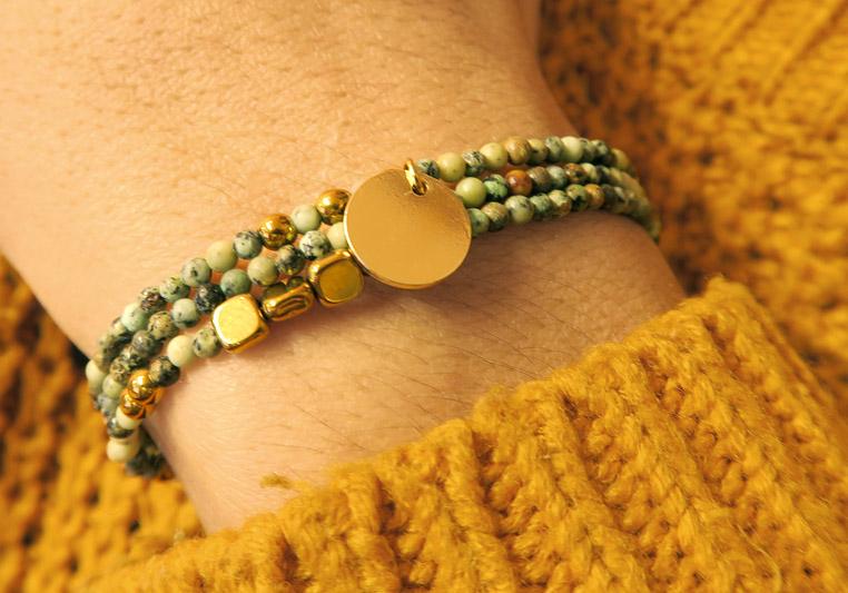 Bracelet en pierre naturelles DIY