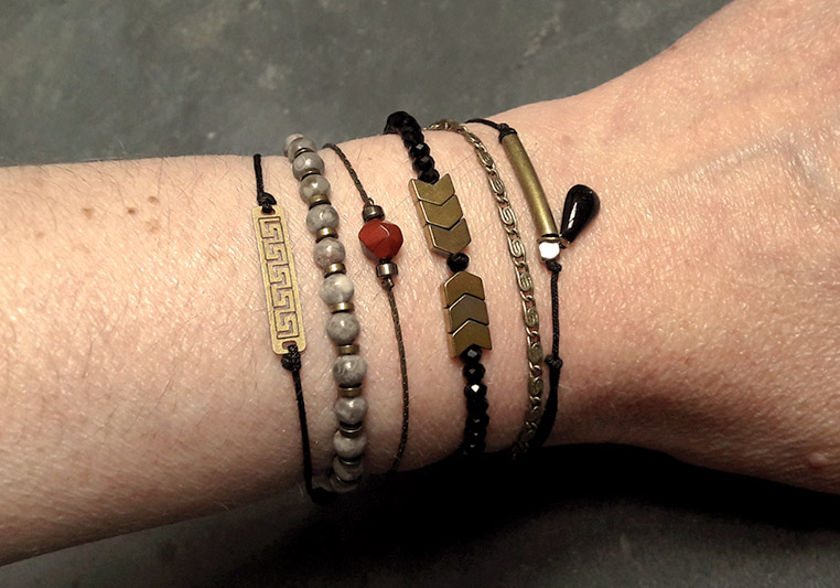 Techniques fermoirs bracelets
