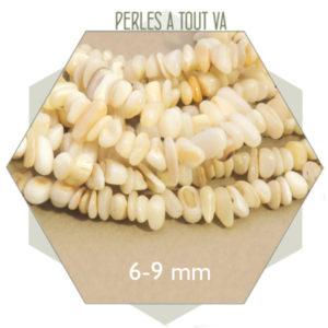 Fournisseur perles coquillage nacre