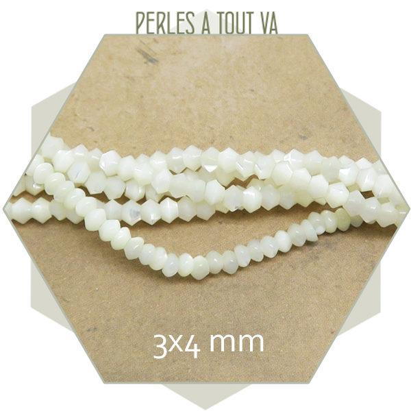 Vente perles nacrées satinées