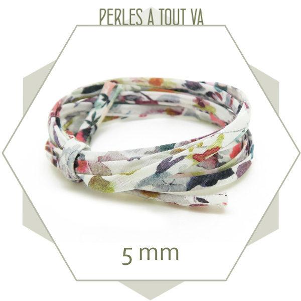 vente cordon liberty pour bracelets