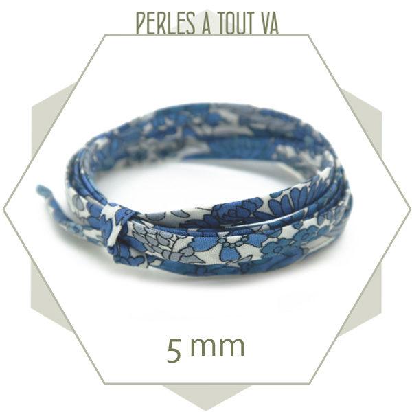 cordon liberty pour créations bracelets