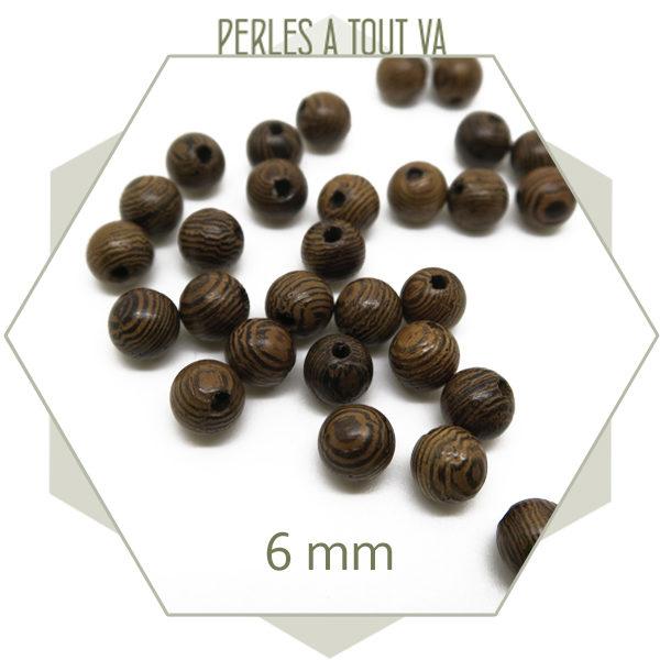 Grossiste matériel perles bois