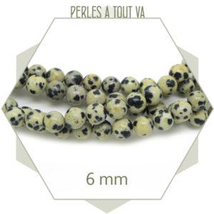 Grossiste matériel perles rondes dalmatiens