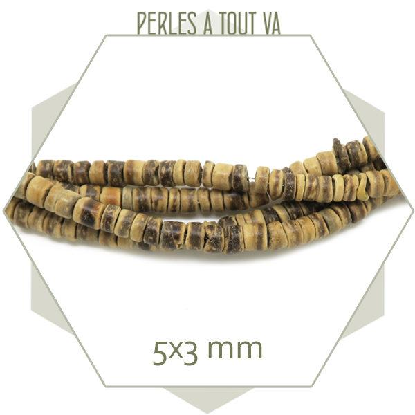 Vente perles bois coco