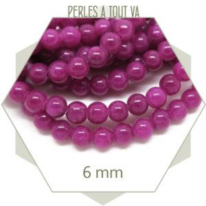 Vente en gros de perles rondes en jade