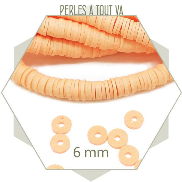 vente perles katsuki orange givré