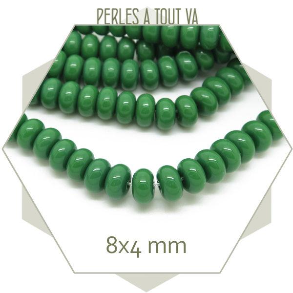 Grossiste perles rondelles en verre pour bijoux