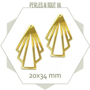 Vente de pendentif rétro en acier