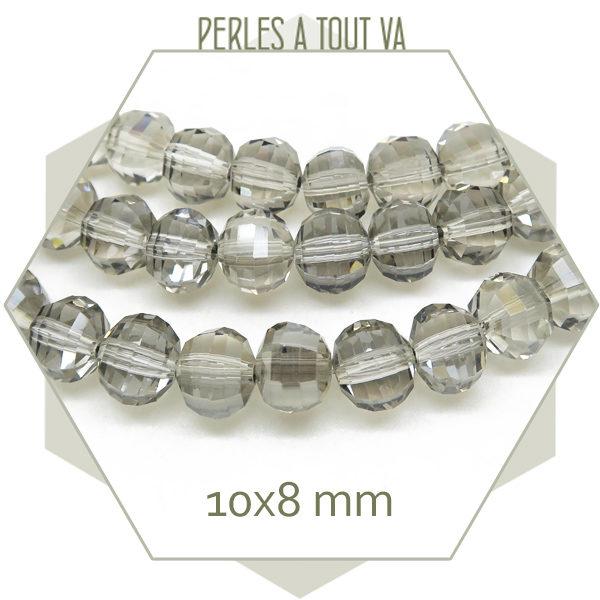 Fournisseur grosses perles donut transparente