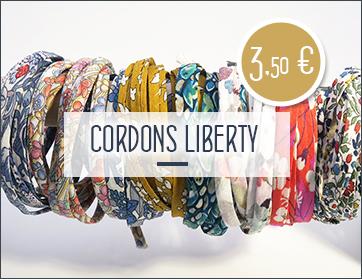 Achats cordons liberty au mètre