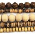 Grossiste perles en bois